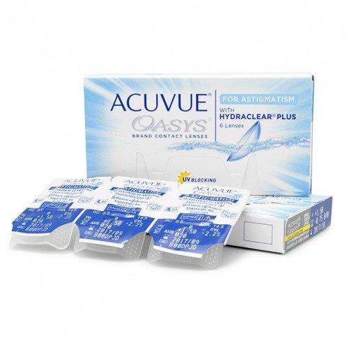 Acuvue Oasys for Astigmatism (kastītēs)