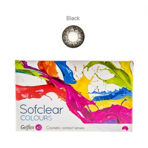 Sofclear Colours Black