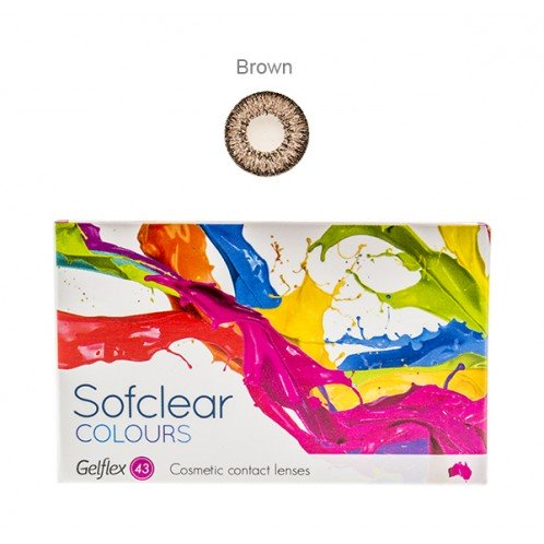 Sofclear Colours Brown