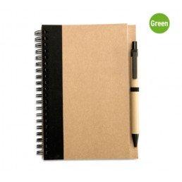 Эко-блокнот с ручкой
